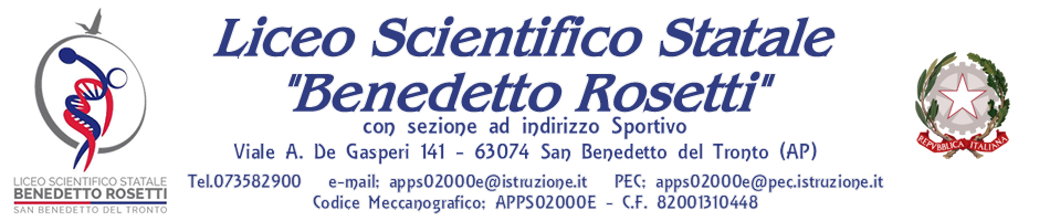 LICEO SCIENTIFICO STATALE - B. ROSETTI
